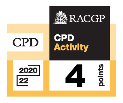 RACGP logo Accredited Activity 2020-2022