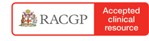 RACGP Accepted Clinical Resource logo
