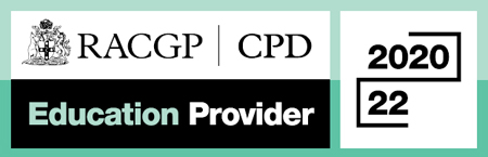 RACGP CPD Education Provider 2020-2022 logo